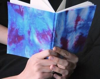 Small Notebook/Sketchbook/Journal w/ Tie Dye Cover