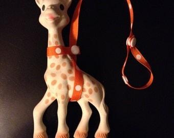 Sophie The Giraffe Leash