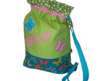 Gym bags, laundry bags