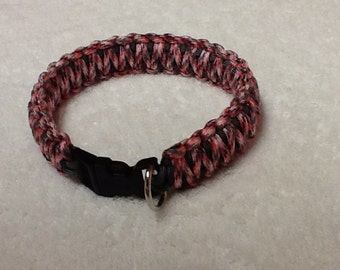 "Custom color paracord dog collar (Extra Extra Large >22"")"