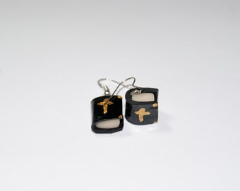 Bible earring