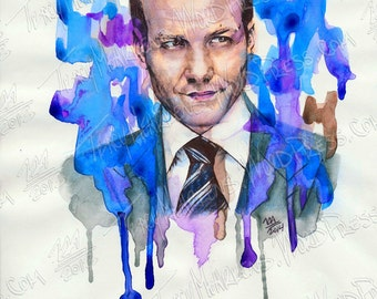 Gabriel Macht 9x12 in. Watercolor, Ink on Paper, 2014
