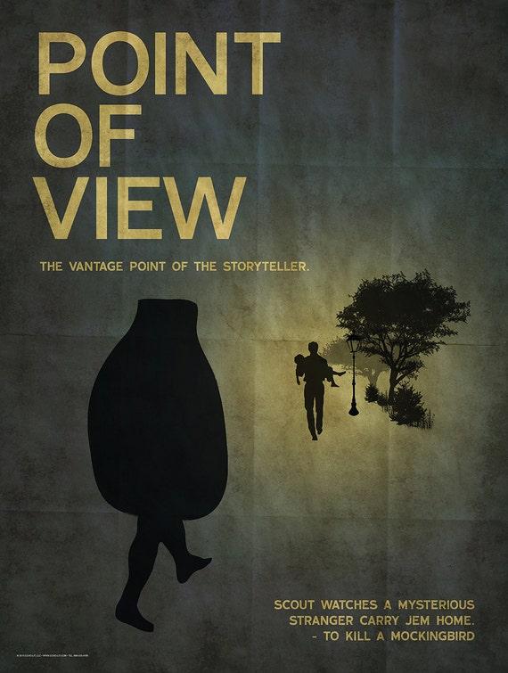 Point Art Element : Literary art print point of view an element a novel