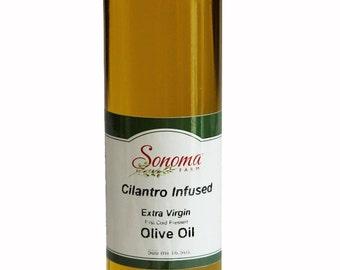 Cilantro Infused Virgin Olive Oil 16.9 oz