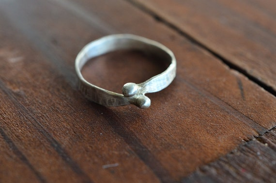 Sterling Silver Gamaguchi Ring - Minimalist Ring - Sterling Silver Handcrafted Ring