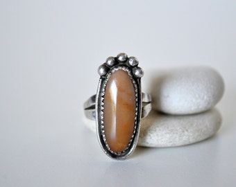 Native American Silver and Jasper Ring