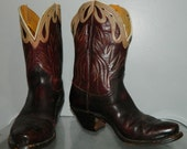 vintage NOCONA 50s cowgirl boots size 7 ankle shorty boots