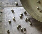 RESERVED- SOLD 15 mini brass bells, small brass bells, gypsy bells