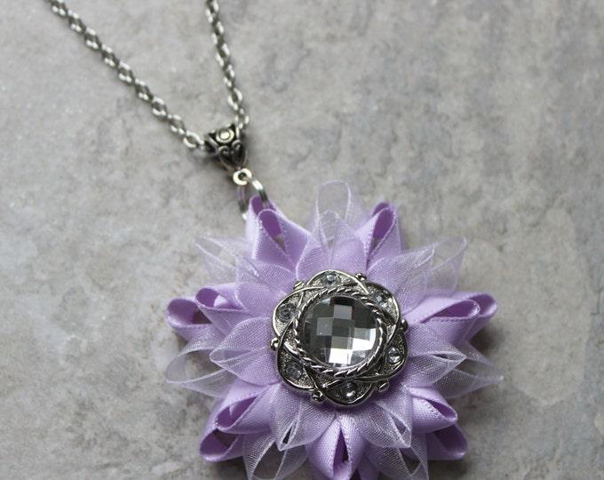 Light Purple Necklace, Orchid Necklace, Lavender, Lilac Wedding, Lavender Bridesmaid Jewelry Set, Orchid Wedding Jewelry Set
