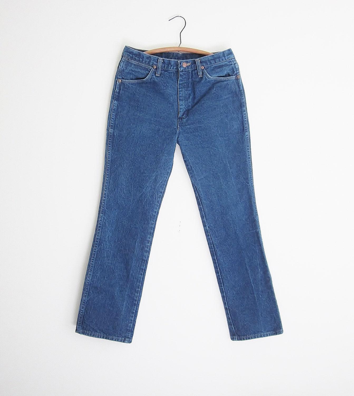 vintage wrangler cowboy cut jeans 936 slim fit made in usa. Black Bedroom Furniture Sets. Home Design Ideas
