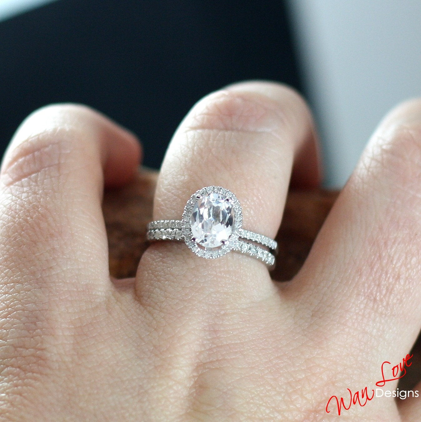 oval wedding ring sets | Wedding