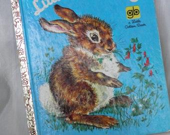 1969 Little Cottontail  Book Vintage Cotton Tail Vintage Little Golden Children's Book