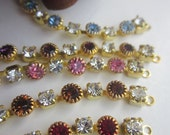 Alluring, Appealing, Charming,  Delightful, Engaging, Fascinating, Glamorous Rhinestone Chain
