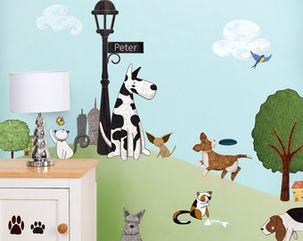 Cat And Dog Wall Decals Stickers For Nursery And Kids Room Wall Decor    JUMBO SET Part 33