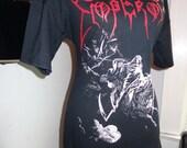 Emperor DIY ladies band shirt black metal heavy metal boatneck tunic