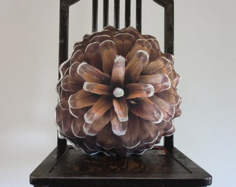 Pine cone pillow made to order