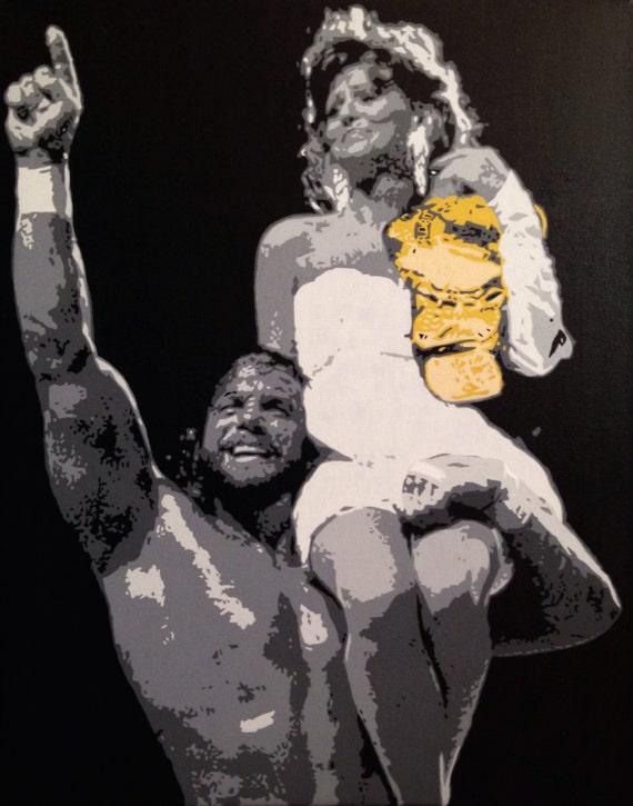 "Macho Man Randy Savage Custom Pop Art Painting 16""x20"" Canvas"