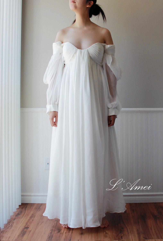 Ancient greek wedding dresses luxurious for Greek wedding dress designers