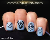 Aztec Nail Decal NAILTHINS Nail Art Design