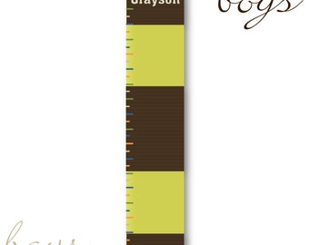 Personalized Children's Growth Chart on Canvas SALE! (925)