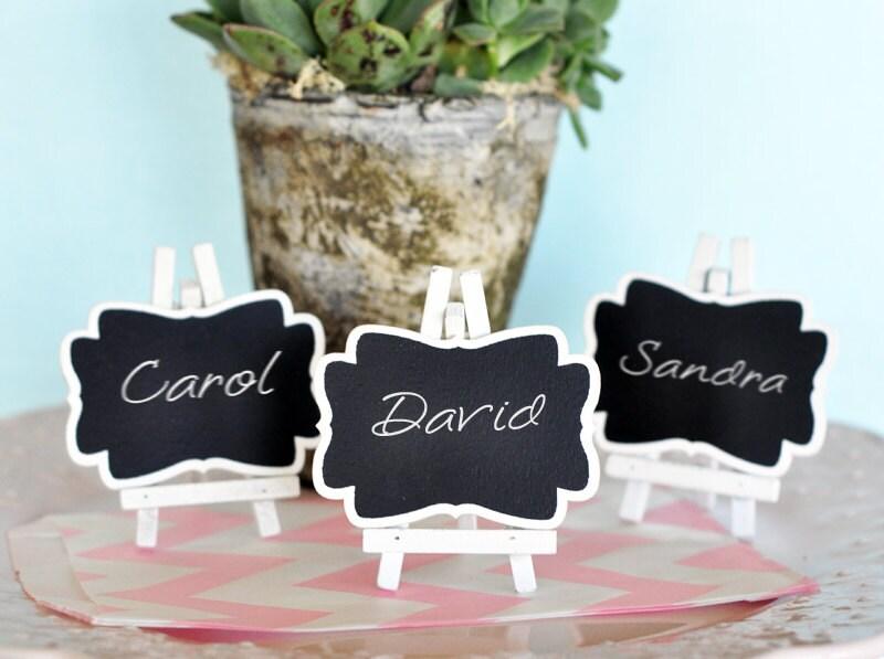 Chalkboard Place Cards Mini Chalkboard Framed Chalkboard