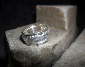 Rush reticulated silver