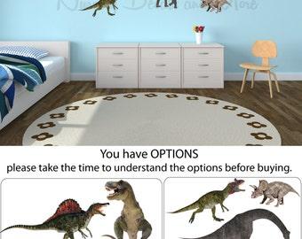 Dinosaur Wall Decals, Dinosaur Stickers, Dinosaur Decals ( Mini Real Dinos Set 2 shown) MRD2