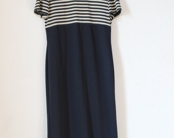 Vintage Maxi-Kleid Gr. S-M