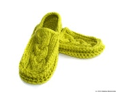 Slippers Pattern, Crochet PATTERN, Knitting Pattern, Adult Slippers Pattern, Womens Slippers Pattern, Mens Slippers Pattern, Knit Crochet