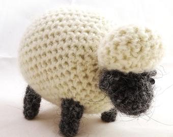 Icelandic Sheep Crocheted Plush