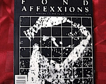 Fond Affexxions Magazine Fanzine No 1.2 1993 Paul Westerberg Gregg Turner Angry Samoan Sprial Bill Nelson Germs Replacements