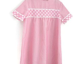 Vintage Dress, Girls Dress, Girls Summer Dress, Girls Vintage Dress