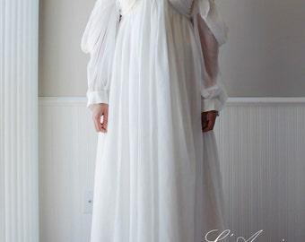 Custom Made Ancient Greece Wedding Dress Of Chiffon Or Upgrade To Silk