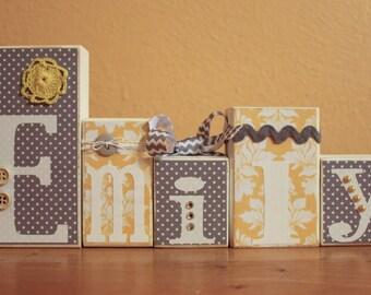 Gold Nursery Gender Neutral Baby Shower Grey Yellow Baby Shower Yellow Gray Nursery Gold Baby Shower Grey Yellow Nursery Baby Name Blocks