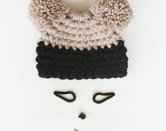 The Double Dipped Hat in Water Chestnut and Black Forest Cake