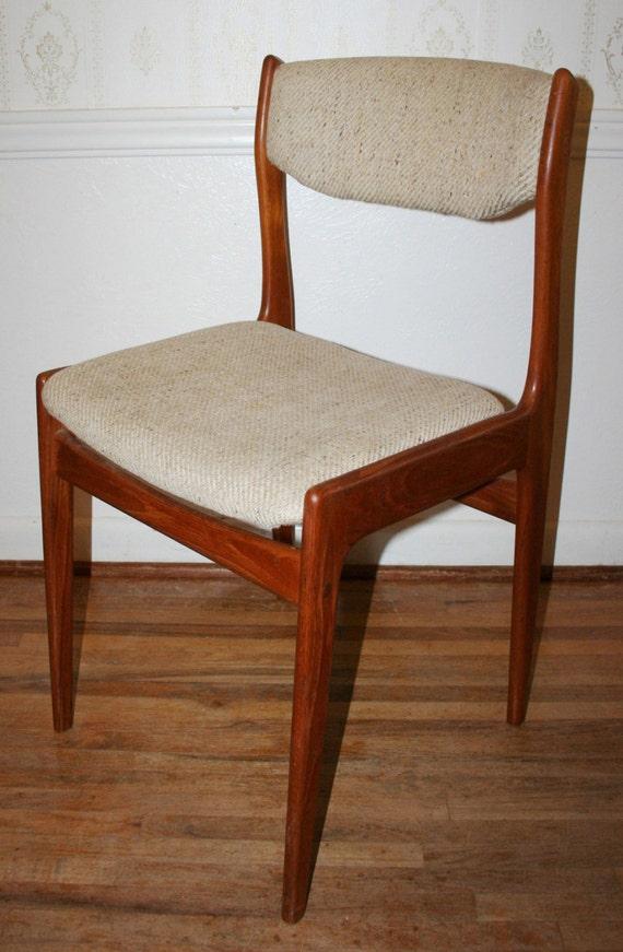 Vintage Mid Century Danish Modern Solid Teak Wood Benny