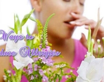 51 Ways To REDUCE ALLERGIES such as Dust Mites, Pet Dander and Mold, PDF eBook