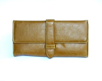 Women's Brown Leather Wallet, Women's Brown Leather Purse, Leather Wallet, Leather Purse, Brown wallet, Brown Purse , Womens wallet
