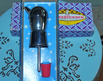 Vintage Mr. Bartender Bar Boy Pouring Spout
