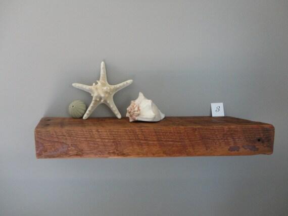 Over year old barnwood shelves barn wood