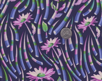 Fat quarter - Blue Quills - Acacia by Tula Pink - Free Spirit cotton quilt fabric, Tula Pink fabric,tulatroops,cotton fabric,quilting fabric