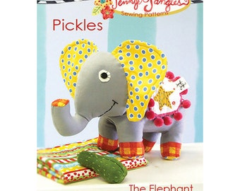 Jennifer Jangles Pickles the Elephant Sewing Pattern