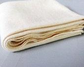 Organic Baby Blanket - Eco friendly Receiving Blanket - Hemp Organic Cotton Fleece - Natural
