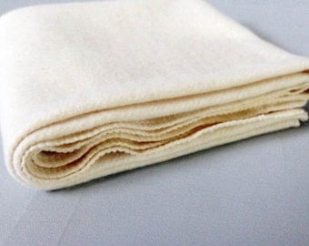 Organic Baby Blanket - Eco friendly Receiving Blanket - Hemp Organic Cotton Fleece - Natural