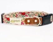 Liberty of London, Claire-Aude. Hemp Dog Collar. Small-Medium-Large.