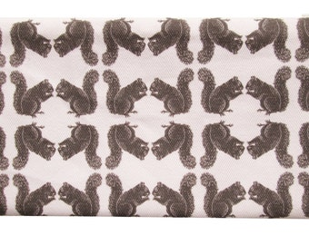 NEW squirrel zippered pouch