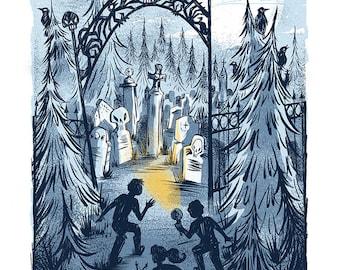 The Gate - Mini Art Print