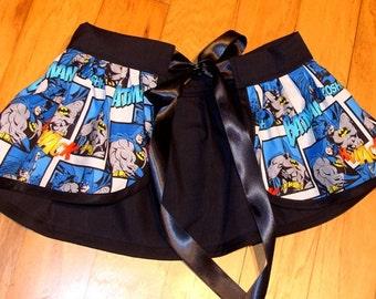 Batman Cosplay Tie-On Bustle Belt
