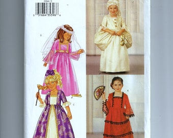 Butterick Girl's Costumes Pattern P264