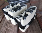CHARCOAL soap with CLAY Palm Free Acne Fighting Soap ... Black Kettle, All Natural Soap, Facial Bar